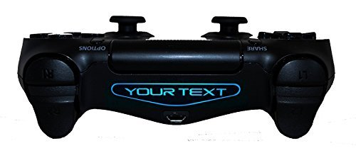 2x custom personalised controller light bar vinyl stickers for 2x custom personalised controller light bar vinyl stickers for playstation 4 ps4 by ellis graphix by aloadofball Image collections