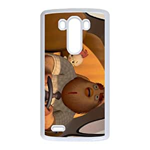 LG G3 Cell Phone Case White Disney Chicken Little Character Buck Cluck