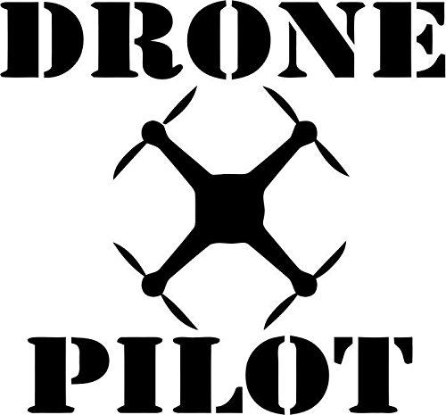 Drone Pilot Vinyl Decal Sticker Car Window Bumper- 6