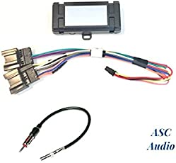 ASC Audio Premuim Car Stereo Radio Wire Harness And Antenna Adapter For  Some GM Chevrolet 07