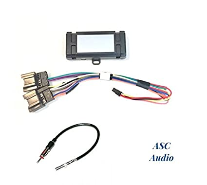 Amazon.com: ASC Audio Premuim Car Stereo Radio Wire Harness ... on