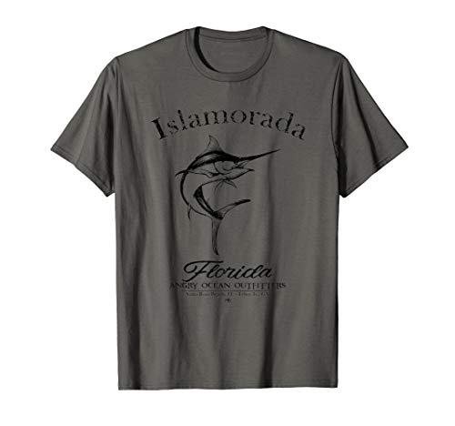 Islamorada Florida Sailfish Fishing Deep Sea Keys Marlin  T-Shirt