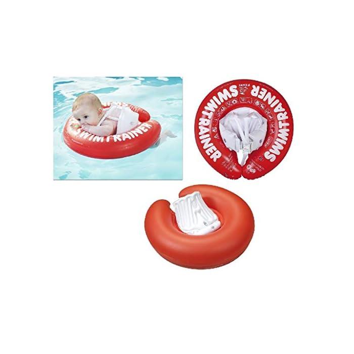 41huF8l8OgL Fabricado en un fuerte PVC Ofrece una posición ideal en el agua Las almohadillas (blocs) inflables evitan resbalones o deslizamientos