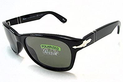 44707609020a7 Amazon.com  Persol PO2953S Sunglasses - 95 58 Black (Crystal Green  Polarized Lens) - 56mm  Shoes