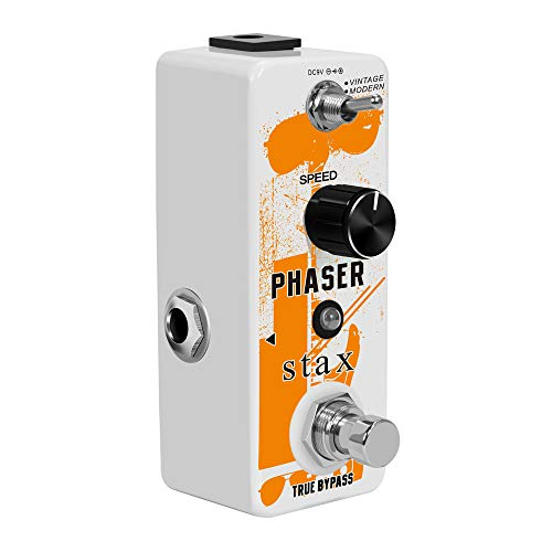 Stax Guitar Phase Pedal Analog Phaser Pedal For Electric Guitar