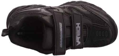 Skechers RaggedDox 95423L BLK - Zapatillas para niño Negro