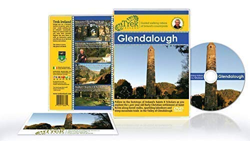 Trek Ireland In Glendalough - Indoor Virtual Walks Fitness DVD - Scenic Treadmill Workout - Embark On A Journey Through Ireland's Nature And Local Heritage