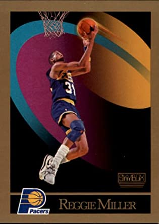 Amazon.com: 1990 SkyBox Basketball Card (1990-91) #117 Reggie Miller