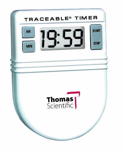 Thomas 5046 Clip It Timer, 0.01 Percent Accuracy, 1-1/2