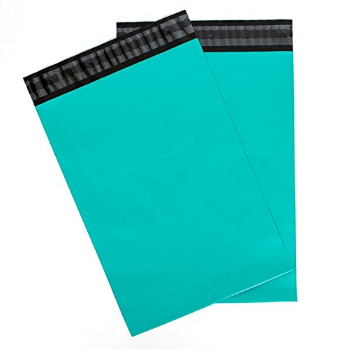 Inspired Mailers Teal Poly Mailers 10x13 - Pack of 100 - Unpadded Shipping Bags - Multiple Color and Size Options