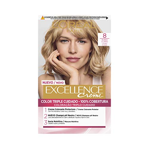 🥇 L'Oréal Paris Excellence Coloración Crème Triple Protección