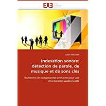 INDEXATION SONORE  DETECTION DE PAROLE  DE MU