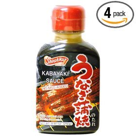 Shirakiku Unagi Kabayaki Sauce, 8.81-Ounce Bottle (Pack of 4)
