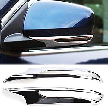 Car Rear View Mirror Cover Trim Fit Porsche Cayenne 2016 2017 Matt Chrome