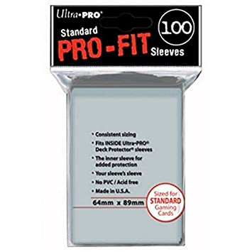 Outletdelocio. Pack 100 Fundas Ultra Pro Pro-Fit para Cartas ...