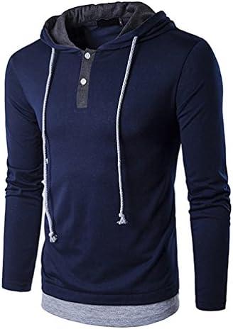 Sudadera con Capucha Camisas casual de manga larga Sudaderas