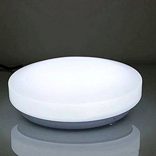 AFSEMOS 8.3 Inch Mini LED Ceiling Light, LED Flush Mount, 8W (55W  Incandescent Bulbs Equivalent) ,LED Light Fixtures Ceiling, 3000K Warm  White For Living ...