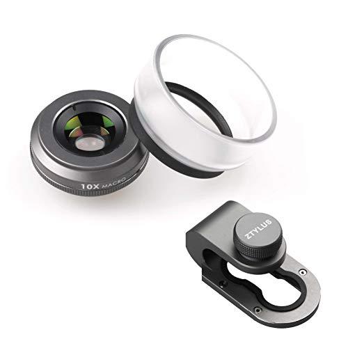 Z-Prime 10x Macro Lens + Free Lens Adapter for iPhone 7/8 / 7 Plus / 8 Plus/X/XS/XS MAX/XR