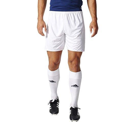 adidas Men's Soccer Tastigo 17 Shorts, White/White, ()