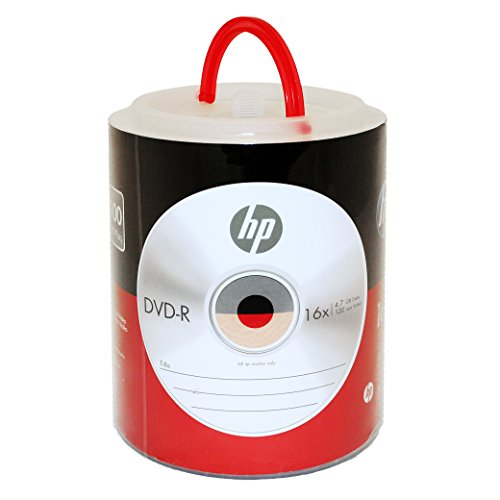 HP DVD-R 16X 4.7GB 100PK Spind