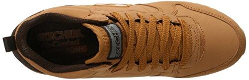 Deporte Zapatillas Rose Mujer De Para Hollywood Originals 85 Nubuck Og Skechers Wheat Xwqg0Af