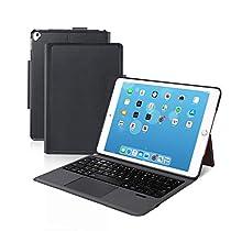 新品 [iPad 10.2/10.5通用]Ewin® 新型 iPad キーボード ケース タッチパッド付き 一体式Bluetoothキーボード 超薄型 ipad 第7世代 10.2 ipad pro 10.5 ipad air3 10.5対応