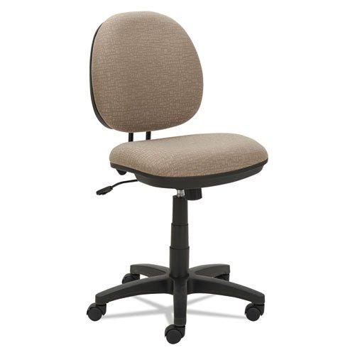 Alera ALEIN4851 Interval Series Swivel/Tilt Task Chair, Sandstone Tan Fabric