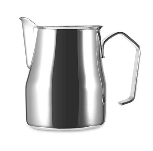 Frothing Pitcher, Windspeed Stainless Steel Milk Pitcher Latte Art Jug Gift (350ml)