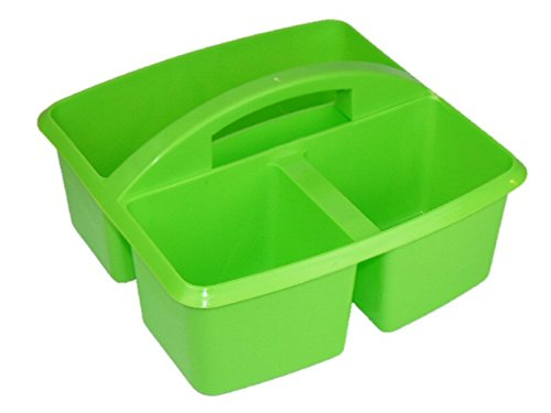 Lime Green Small Utility Caddy- Personalize with Vinyl Romanoff 25915