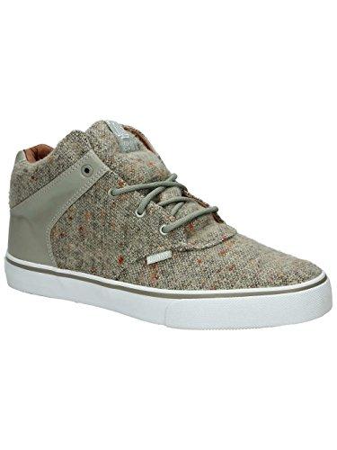 Shoes Sneakers Grey Men Felt Spotted Djinns Chunk EqczPw55