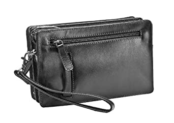 Mens small Leather Pouch bag by Prime Hide - Stylish Small Manbag ...
