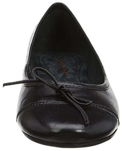 Hush Puppies Ladies Alina Grace Ballerinas Black (nero)