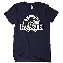 Cybertela Men's Fathers Day Gift PAPASAUR PAPA Saur T-REX T-Shirt