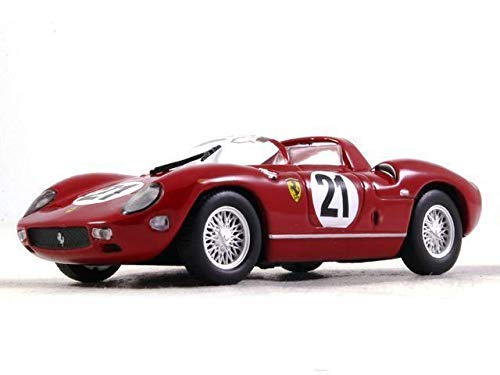 - Ferrari 250 P Sports Prototype Red Color 1:43 Scale Diecast Model Car 1963 Year