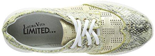 Laura Donna Delphine dore Oro Dore 04 Vita Sneaker 7qFr78w