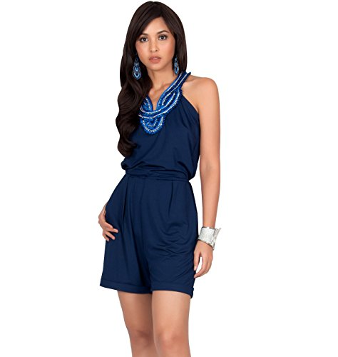 05eacd51208b KOH KOH Womens Sleeveless Sexy Cute Cocktail Party Summer Short Shorts  Romper Playsuit Playsuits Romper Rompers Jumpsuit Jumpsuits