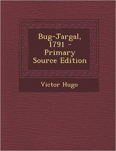 Libro para descargar gratis Bug-Jargal, 1791 PDF CHM ePub