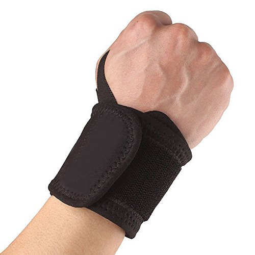 Orcbee  _Wrist Guard Band Brace Support Carpal Tunnel Sprains Strain Gym Strap ()