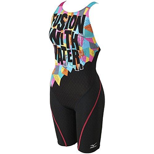 MIZUNO(ミズノ) 競泳水着 レディース ストリームアクティバ ハーフスーツ (オープン) FINA承認 N2MG7744