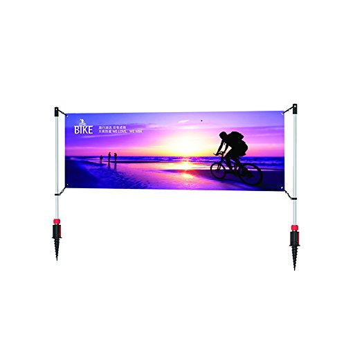 Sign Talk Outdoor Banner Post ()