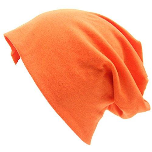 hip Beanie gorra Gorro para de sombrero Unisex Otoño naranja mujeres Slouch Baggy Hat Invierno Casual hop Naranja Naranja Cap Cap TININNA hombres nOfSwqP