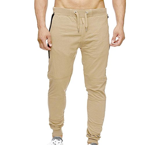 cket Overalls Casual Pocket Sport Work Casual Trouser Pants ()
