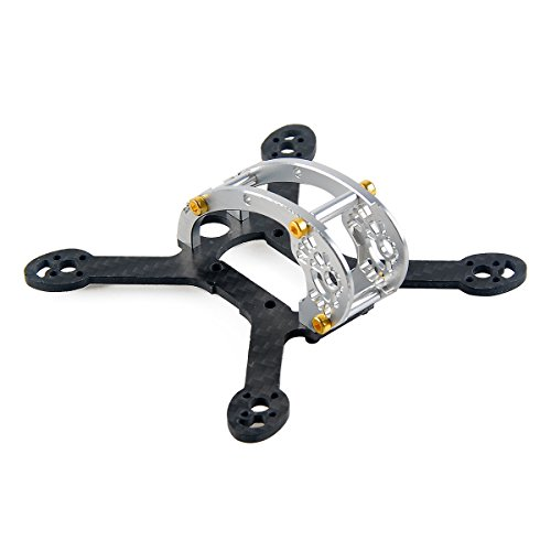 Fc Frame (FLYEGG 100mm Frame Kit for Micro FPV Racing Drone Mini Quadcopter)