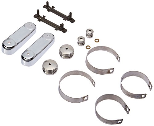National Cycle Switchblade Mount Kit Chrome for Honda - Switchblade Windshields Motorcycle