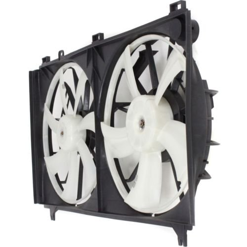 MAPM Premium IS250 06-13 RADIATOR FAN SHROUD Assembly, Dual Type, 2.5L Eng. by Make Auto Parts Manufacturing (Image #2)