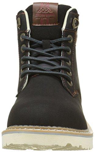 Kappa Marvin - Zapatillas de deporte Hombre Negro - Noir (Black/Brown/Dark Red/Off White)
