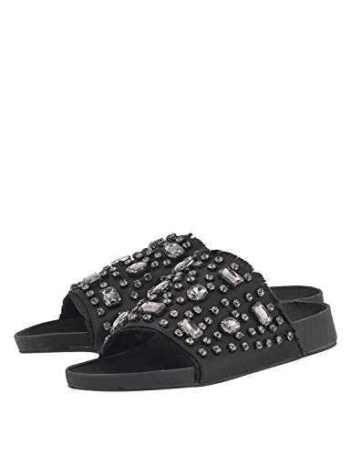 Slides LOUVEL Slides LOUVEL Women's Black Black LOUVEL Women's xBSxnY