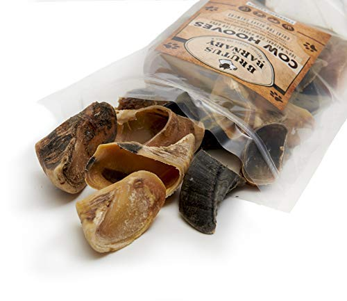 BRUTUS & BARNABY Cow Hooves for Dogs- Large and