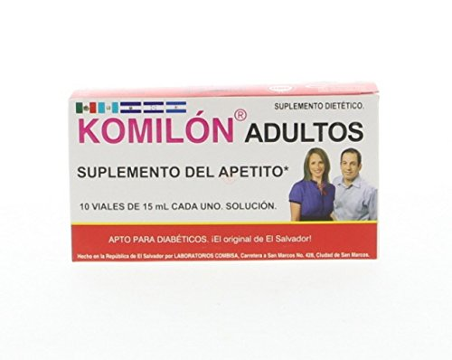 Komilon Adults – Suplemento Del Apetito x 10 Viales x 15 ml (Pack of 1) Review