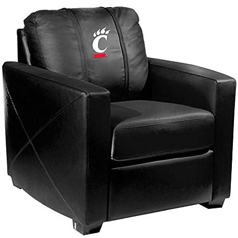 Phenomenal Amazon Com Cincinnati Bearcats Collegiate Silver Chair Lamtechconsult Wood Chair Design Ideas Lamtechconsultcom